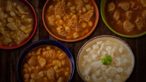 The different types of Menudo